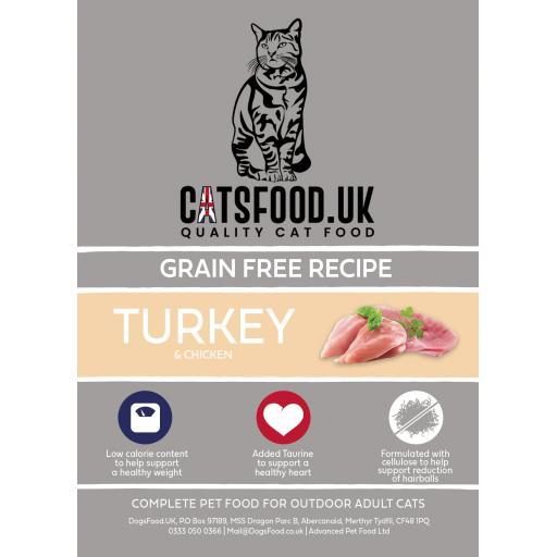 Connoisseur Cat Adult Turkey & Chicken Dry Food