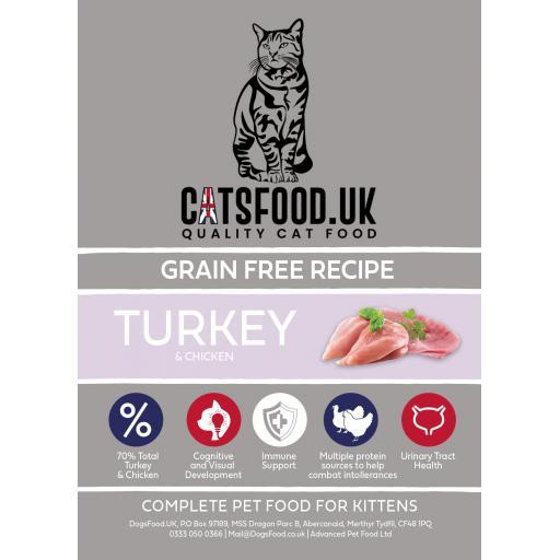Connoisseur Cat Kitten Turkey & Chicken Dry Food