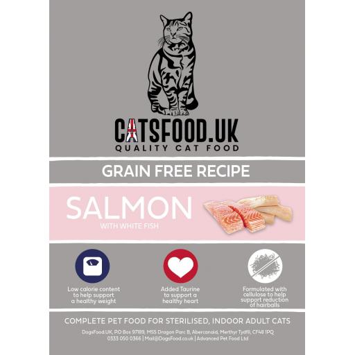 Connoisseur Cat Steril Salmon with White Fish Dry Food