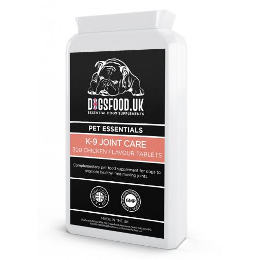 K9-Joint Care 300 Chicken Flavour Tablets