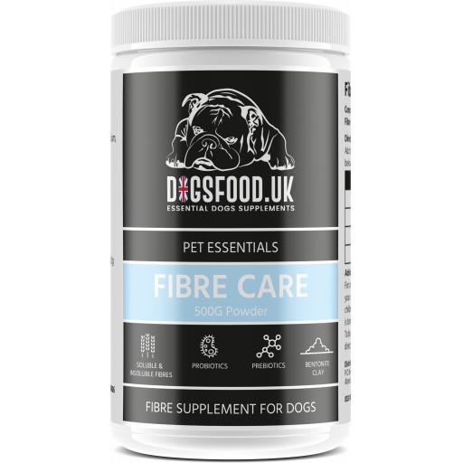 Fiber Care Probiotic Powder Dogs
